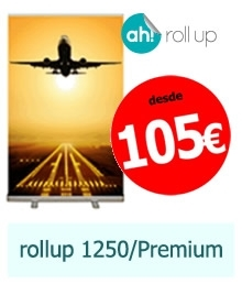 Roll up 1250/Premium desde 105 €/u
